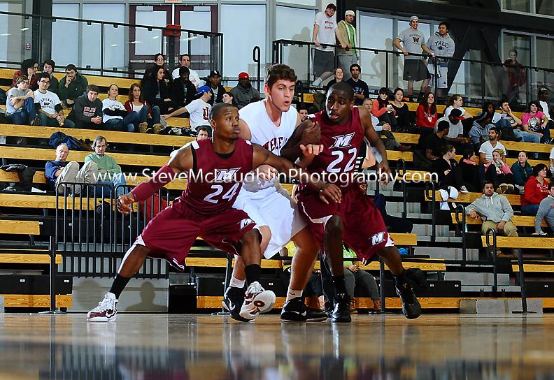 Weslayan Men's Basketball vs. Manhattanville College.