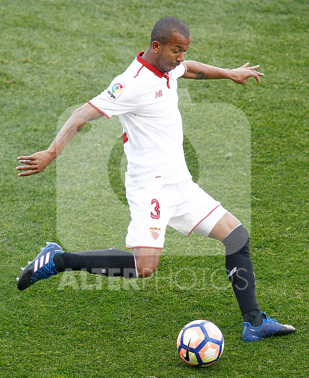 Sevilla FC's Mariano Ferreira during La Liga match. March 19,2017. (ALTERPHOTOS/Acero)