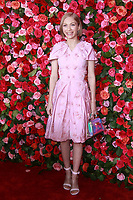 NEW YORK, NY - JUNE 10: Tavi Gevinson   at the 72nd Annual Tony Awards at Radio City Music Hall in New York City on June 10, 2018.