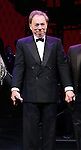 Andrew Lloyd Webber during the Opening Night Curtain Call bows for Andrew Lloyd Webber's 'Sunset Boulevard' at the Palace Theatre on February 9, 2017 in New York City.