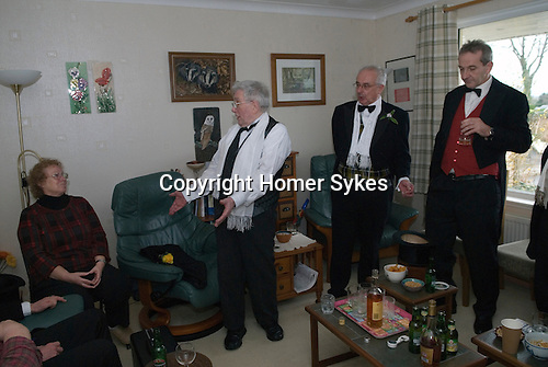 Bodmin Wassailers old New Years Day 6th January 2016<br /> <br /> Mary Bryson a friend and folk singer.