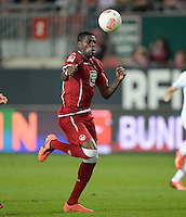 FUSSBALL 1. BUNDESLIGA   SAISON   2012/2013: RELEGATION   RUECKSPIEL 1. FC Kaiserslautern - TSG 1899 Hoffenheim         27.05.2013 Mohamadou Idrissou (1. FC Kaiserslautern)  Einzelaktion am Ball