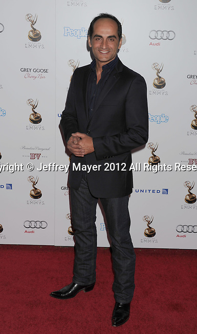 WEST HOLLYWOOD, CA - SEPTEMBER 21: Navid Negahban attends the 64th Primetime Emmy Awards Performers Nominee reception held at Spectra by Wolfgang Puck at the Pacific Design Center on September 21, 2012 in West Hollywood, California.