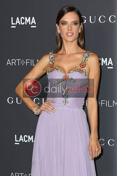 Alessandra Ambrosio<br /> at the 2016 LACMA Art +  Film Gala, LACMA, Los Angeles, CA 10-29-16<br /> David Edwards/DailyCeleb.com 818-249-4998