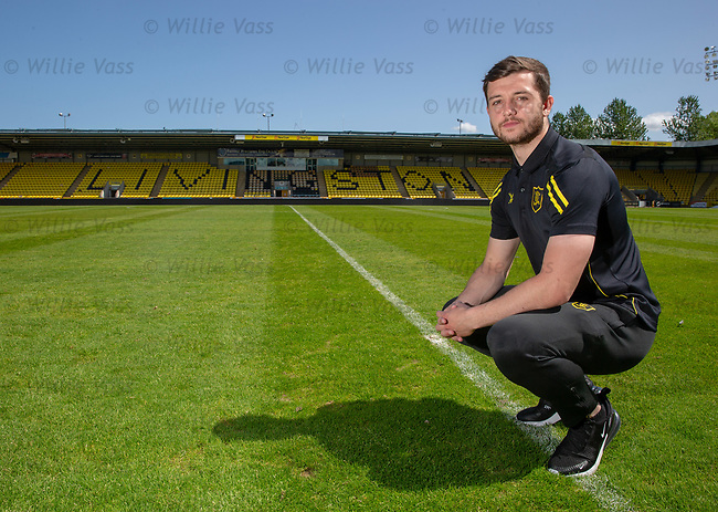 16.05.2018 Livingston FC training and presser: Craig Halkett
