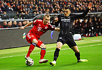 Filip Kostic (Eintracht Frankfurt) gegen Joshua Kimmich (FC Bayern Muenchen) - 22.12.2018: Eintracht Frankfurt vs. FC Bayern München, Commerzbank Arena, DISCLAIMER: DFL regulations prohibit any use of photographs as image sequences and/or quasi-video.