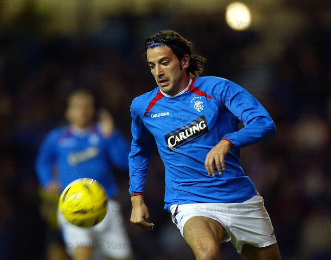 Nuno Capucho, Rangers.Stock season 2003-2004.pic willie vass