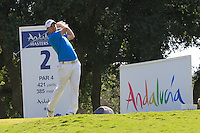 Richie Ramsey (SCO) during the final day of the  Andalucía Masters at Club de Golf Valderrama, Sotogrande, Spain. .Picture Denise Cleary www.golffile.ie