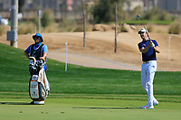 Steve Brown (ENG) on the 14th during the final round of  the Saudi International powered by Softbank Investment Advisers, Royal Greens G&CC, King Abdullah Economic City,  Saudi Arabia. 02/02/2020<br /> Picture: Golffile | Fran Caffrey<br /> <br /> <br /> All photo usage must carry mandatory copyright credit (© Golffile | Fran Caffrey)