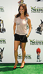 "UNIVERSAL CITY, CA. - May 16: Brooke Burke  arrives at the ""Shrek Forever After"" Los Angeles Premiere at Gibson Amphitheatre on May 16, 2010 in Universal City, California."