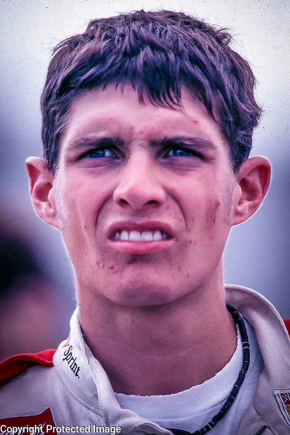NASCAR driver Adam Petty, shown in this file photo from September 1999, was killed in a racing crash at Loudon, NH on Friday May 12, 2000. (Photo by Brian Cleary)