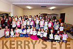 It was the Annual Awards night at the Tenacity School of Performing Arts in Moyderwell on Friday.