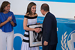 Queen Letizia and South Korean diplomatic Ban Ki-moon  attends to UNICEF Awards 2017 in Madrid, June 13, 2017. Spain.<br /> (ALTERPHOTOS/BorjaB.Hojas)