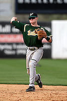 March 2, 2010:  Shortstop Jonathan (Jon) Koscso of the South Florida Bulls during a game at Legends Field in Tampa, FL.  Photo By Mike Janes/Four Seam Images