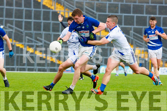 Laune Rangers and Templenoe  during their IFC semi final in Fitzgerald Stadium on Saturday.