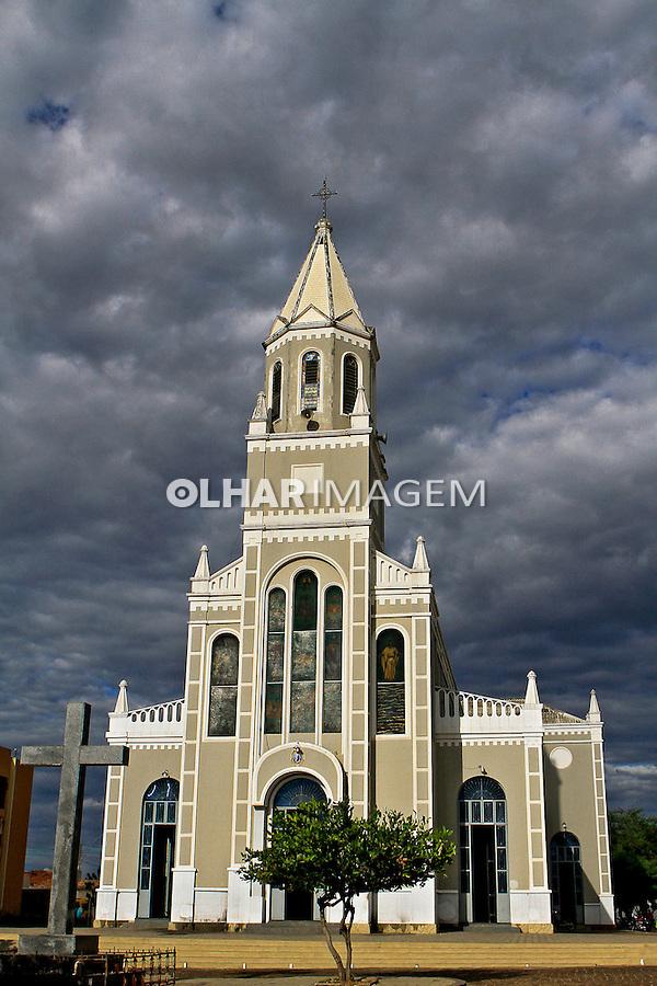 Catedral de Santo Antonio em Campo Maior. Piaui. 2015. Foto Joao Roberto