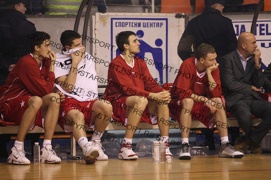 Sport Kosarka Basketball Srbija Serbia Kragujevac Kup Radivoja Koraca  Crvena Zvezda Red Star FMP10.2.2007. photo: Pedja Milosavljevic