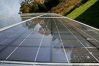 SOLAR ENERGY PANELS<br /> Used To Power An Organic Farm<br /> Blairstown, New Jersey.