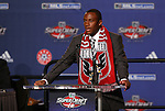 15 January 2009: Rodney Wallace was taken with the sixth overall pick by DC United. The 2009 Major League Soccer SuperDraft was held at the Convention Center in St. Louis, Missouri in conjuction with the National Soccer Coaches Association of America's annual convention.