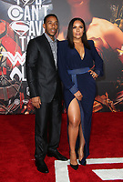 LOS ANGELES, CA - NOVEMBER 13: Ludacris, Eudoxie Mbouguiengue, at the Justice League film Premiere on November 13, 2017 at the Dolby Theatre in Los Angeles, California. Credit: Faye Sadou/MediaPunch /NortePhoto.com