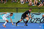 Dylan Thomas during the Pro League Hockey match between the Blacksticks men and the Argentina, Nga Punawai, Christchurch, New Zealand, Friday 28 February 2020. Photo: Simon Watts/www.bwmedia.co.nz