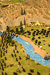 WY: Wyoming, Cody..Old West Miniature Village depicting western history.Photo #: yellow946..Photo copyright Lee Foster, 510/549-2202, lee@fostertravel.com, www.fostertravel.com..