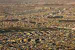 The Iraqi Kurdistan city Sulemaniyah as seen from the mountains which surround it on Wed. Sept. 20, 2006.