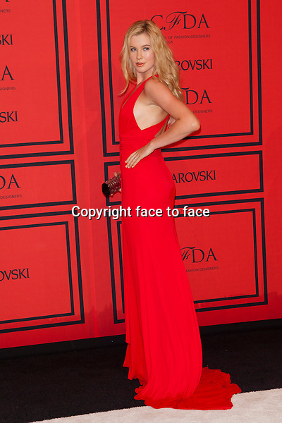 NEW YORK, NY - JUNE 3: Ireland Baldwin at the 2013 CFDA Fashion Awards at Lincoln Center's Alice Tully Hall in New York City. June 3, 2013. <br /> Credit: MediaPunch/face to face<br /> - Germany, Austria, Switzerland, Eastern Europe, Australia, UK, USA, Taiwan, Singapore, China, Malaysia, Thailand, Sweden, Estonia, Latvia and Lithuania rights only -