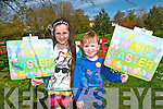 Listowel Egg Hunt : Pictured at the Easter egg hunt in Listowel town park on Saturday last sponsored by Spar Stores, Listowel were Michaela & Ger Roche from Lixnaw.
