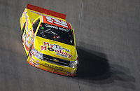 Nov. 6, 2009; Fort Worth, TX, USA; NASCAR Camping World Truck Series driver Mario Gosselin during the WinStar World Casino 350 at the Texas Motor Speedway. Mandatory Credit: Mark J. Rebilas-
