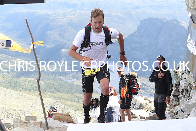 Race number 72 - Aarbakk Hallgeir - Norseman Xtreme Tri 2012 - Norway - photo by chris royle/ boxingheaven@gmail.com