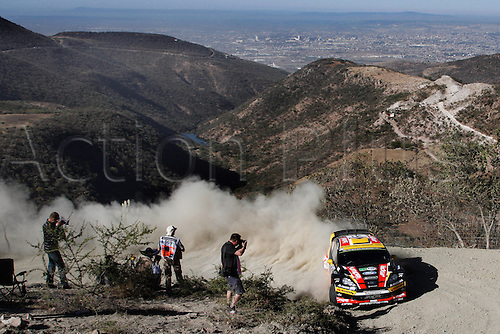 06.03.2014. GUANAJUATO, Mexico. The World Rally Championships (WRC) of Mexico.  Martin Prokop (CZE)and Michal Ernst(CZE) - Ford Fiesta WRC
