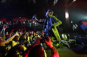 Musician Perry Farrell of Jane's Addiction is seen performing on stage at the Jane's Addiction Concert at The Paramount in Huntington in New York, on Sunday, Mar. 4, 2012. (AP Photo/ Donald Traill)