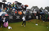 1st October 2017, Windross Farm, Auckland, New Zealand; LPGA McKayson NZ Womens Open, final round;  Spain's Belen Mozo tees off on the 1st