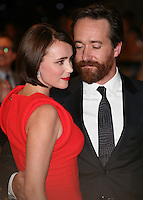 Matthew Macfadyen and Keeley Hawes arriving for the UK Premiere of The Three Musketeers, at Westfield, London. 04/10/2011 Picture by: Alexandra Glen / Featureflash