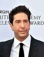 David Schwimmer <br /> at Virgin Media British Academy Television Awards 2019 annual awards ceremony to celebrate the best of British TV, at Royal Festival Hall, London, England on May 12, 2019.<br /> CAP/JOR<br /> &copy;JOR/Capital Pictures