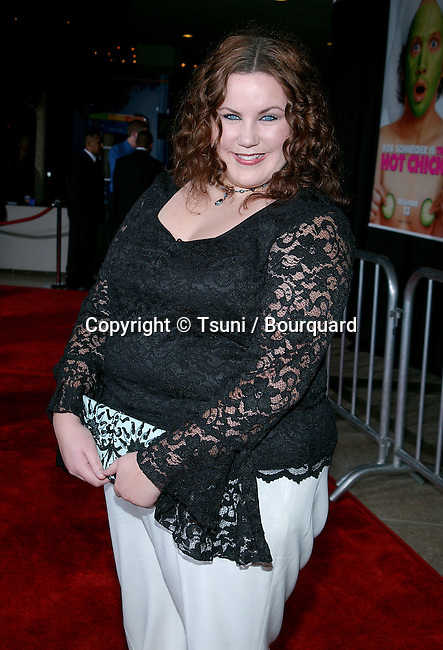 Megan Kuhlman arriving at the Premiere of Hot Chick at the Century Plaza Theatre in Los Angeles. December 2, 2002.            -            KuhlmanMegan233.jpg