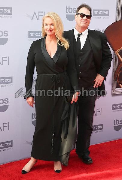 4 June 2015 - Hollywood, California - Donna Dixon, Dan Aykroyd. AFI 43rd Life Achievement Award Gala Tribute To Steve Martin held at the Dolby Theatre. Photo Credit: F. Sadou/AdMedia