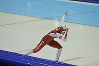 SCHAATSEN: HEERENVEEN: 29-12-2013, IJsstadion Thialf, KNSB Kwalificatie Toernooi (KKT), 1500m, Marrit Leenstra, ©foto Martin de Jong
