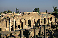 Old Market, 2nd century AD, Bosra, Syria Picture by Manuel Cohen