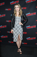 NEW YORK, NY - OCTOBER 6: Melissa Roxburgh  at NBC's Manifest Photocall during the 2018 New York Comic Con  in New York City on October 6, 2018. <br /> CAP/MPI/RW<br /> ©RW/MPI/Capital Pictures