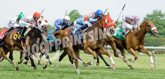 Ava Again winning at Delaware Park on 5/26/12