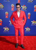 SANTA MONICA, USA. June 16, 2019: Daniel Levy at the 2019 MTV Movie & TV Awards at Barker Hangar, Santa Monica.<br /> Picture: Paul Smith/Featureflash