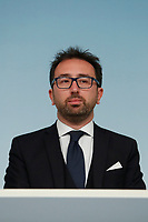 Alfonso Bonafede<br /> Rome January 14th 2019. Press conference of the Minister of the Internal Affairs, of the Premier and of the Minister of Justice.<br /> Foto Samantha Zucchi Insidefoto