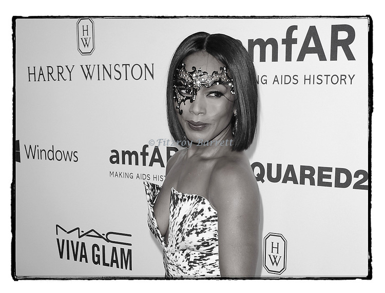 Angela Bassett arriving at Amfar's Inspiration Gala held at Milk Studios in Los Angeles, CA. October 29, 2015