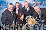 Business people who took part in the Tralee branch of Bank of Ireland's show your Business Week on Friday from left Paddy Barry, Mike McGillycuddy, Bank of Ireland, Der O'Sullivan, O'Sullivans Delicatessen, Tom McGillycuddy, Lots. In front is Carol Kennelly, Carol Kennelly Millinery.