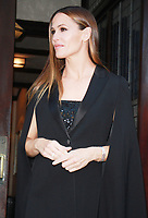 NEW YORK, NY - OCTOBER 18: Jennifer Garner leaving her hotel to attend the 5th Annual Save The Children Illumination Gala at The American Museum of Natural New York October 18, 2017. Credit: RW/MediaPunch /NortePhoto.com