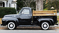Classic Ford pickup truck.