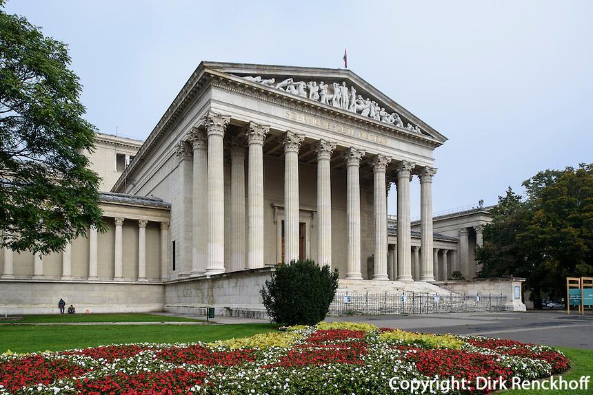 Museum der schönen Künste. Szépmüvészeti Múzeum am Heldenplatz Hösök tere, Budapest, Ungarn, UNESCO-Weltkulturerbe