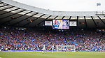 Rangers fans celebrate as Kenny Miller puts them ahead